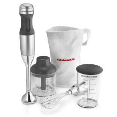 Kitchen Aid immersion blender with attachments