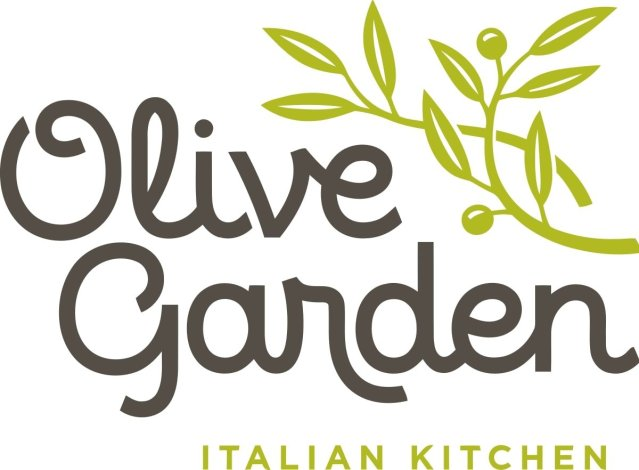 Olive Garden Logo, the #9 worst restaurant to eat at on Whole30.