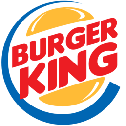 Burger King logo, the #10 best fast food restaurant to eat at on Whole30.