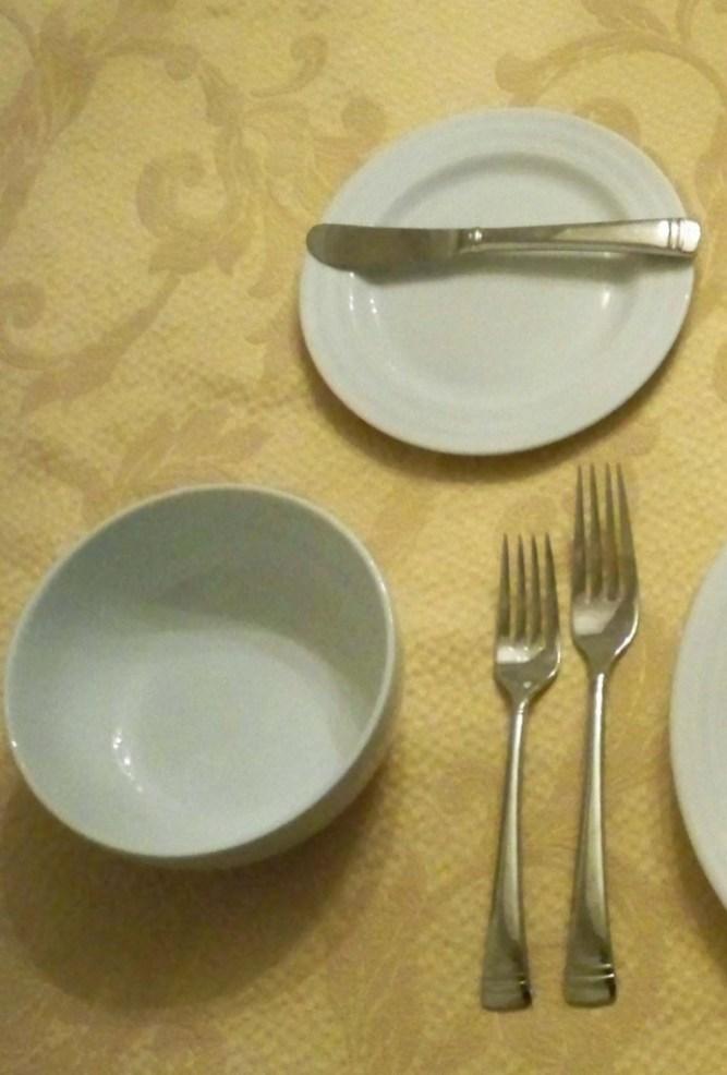 Left Side of Plate