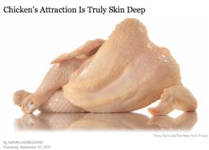 New York Time Sexy Chicken