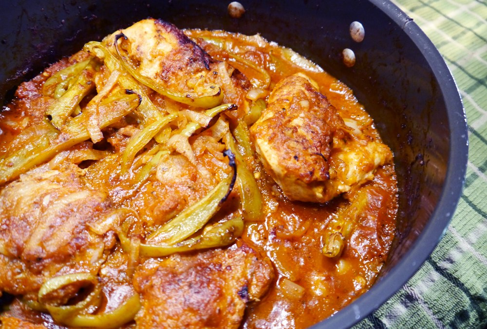 Chicken Cacciatore with Cubanelle Peppers
