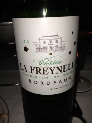 Freynelle White Bordeaux 2012