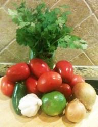 Time to make the salsa