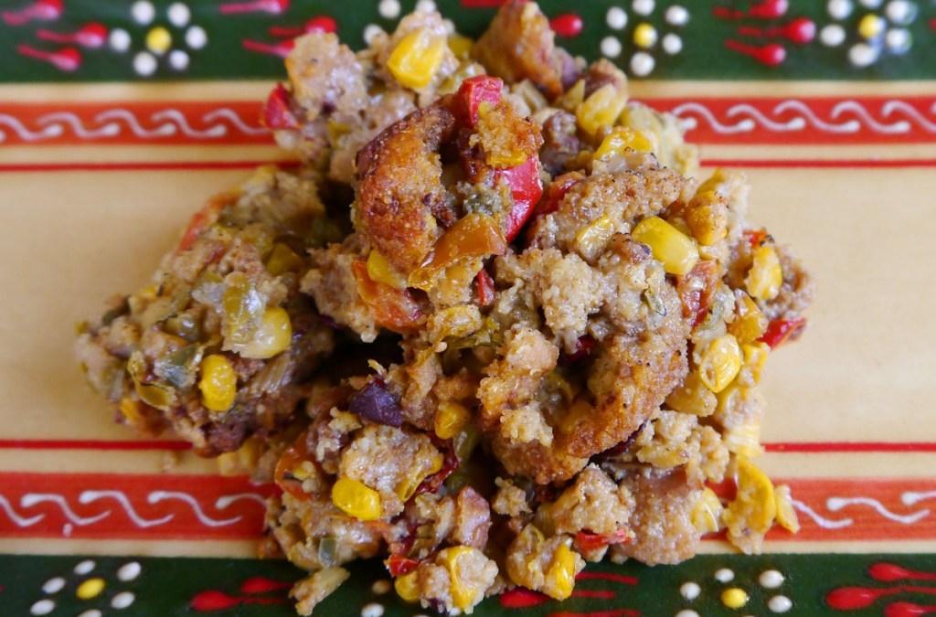 TexMex Southern Cornbread Stuffing