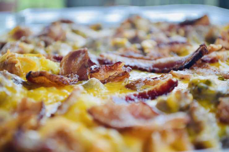 bacon sausage breakfast casserole