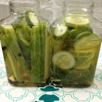 Cucumber Dill Refrigerator Pickles