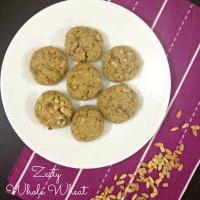 #fbcookieswap : Zesty Whole Wheat Pumpkin Seeds Oatmeal Cookies