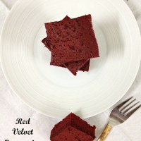 Browned Butter Red Velvet Brownies ~ From Scratch