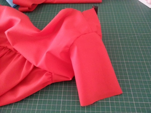 Sew a Queen of Hearts Dress (11)