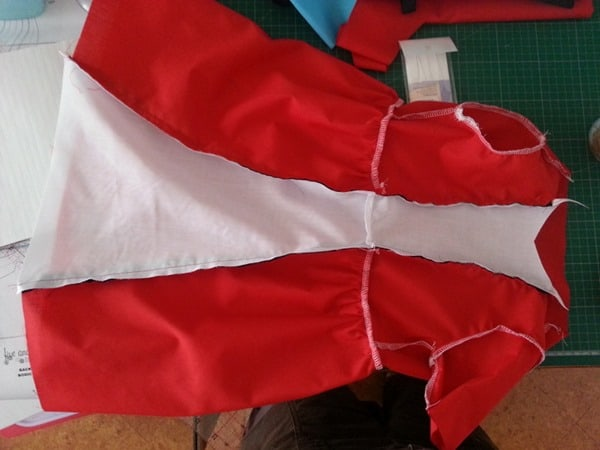 Sew a Queen of Hearts Dress (12)