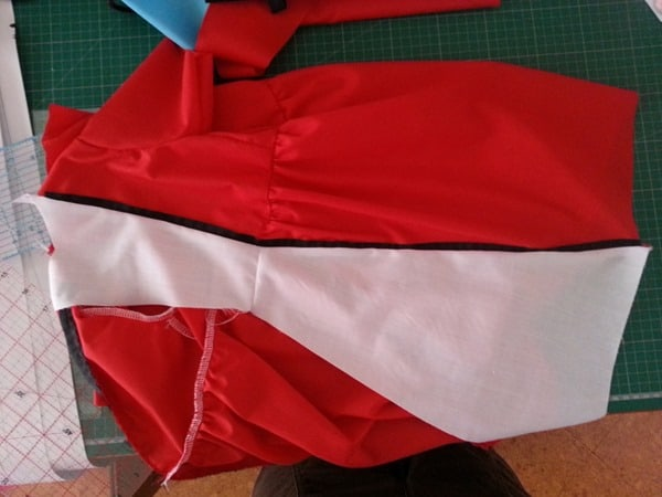 Sew a Queen of Hearts Dress (9)
