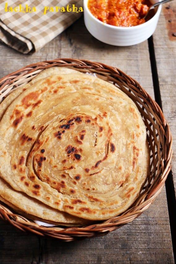 Lachha Paratha Recipe How To Make Lacha Paratha