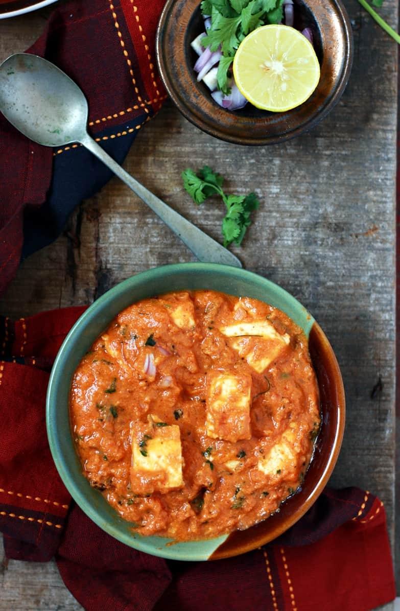 Cook Food Recipes Indian Paneer Lababdar