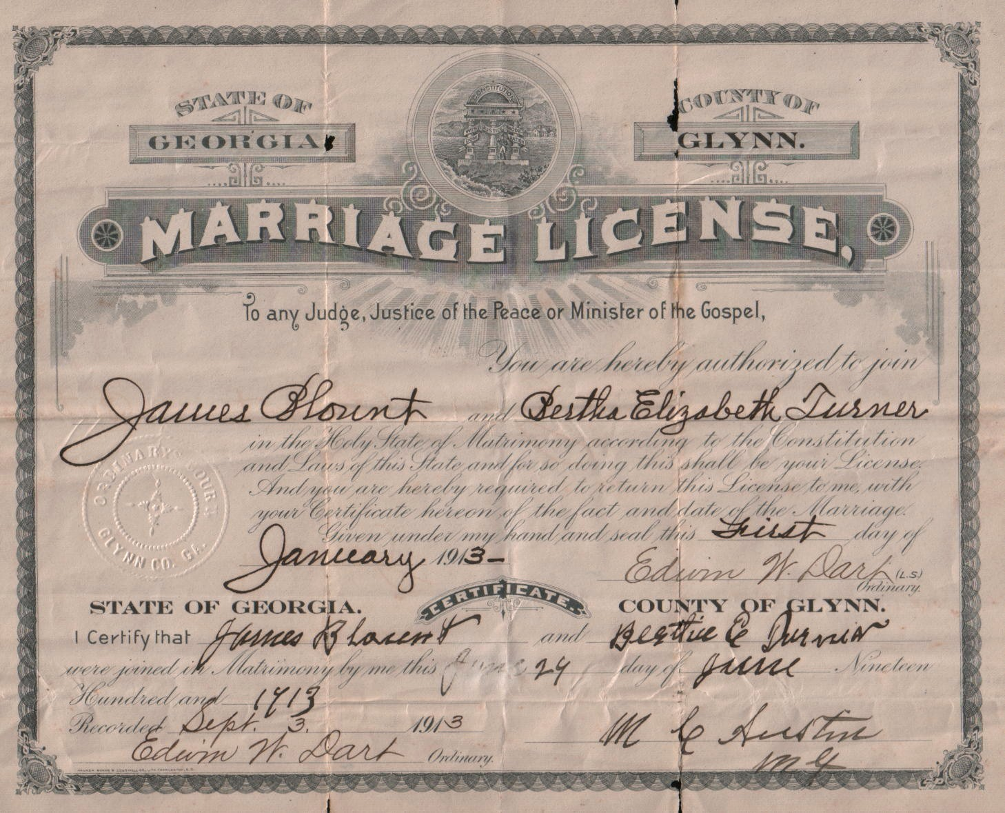 Requirements for Securing a Marriage License