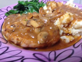 Sexy Smothered Pork Chops