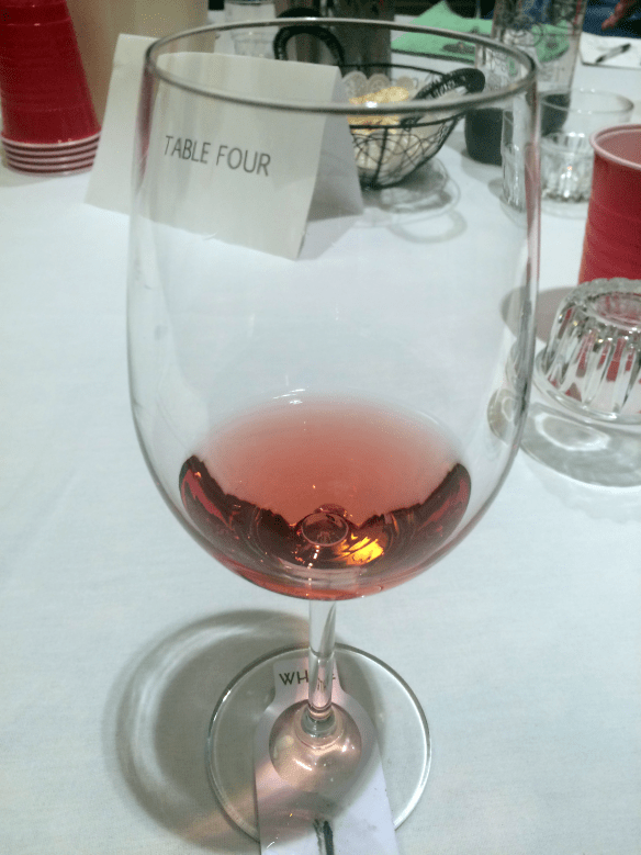 Flight 4- Dry Rose (from another table)
