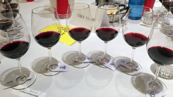 Flight 7 - Red Vinifera Varietal