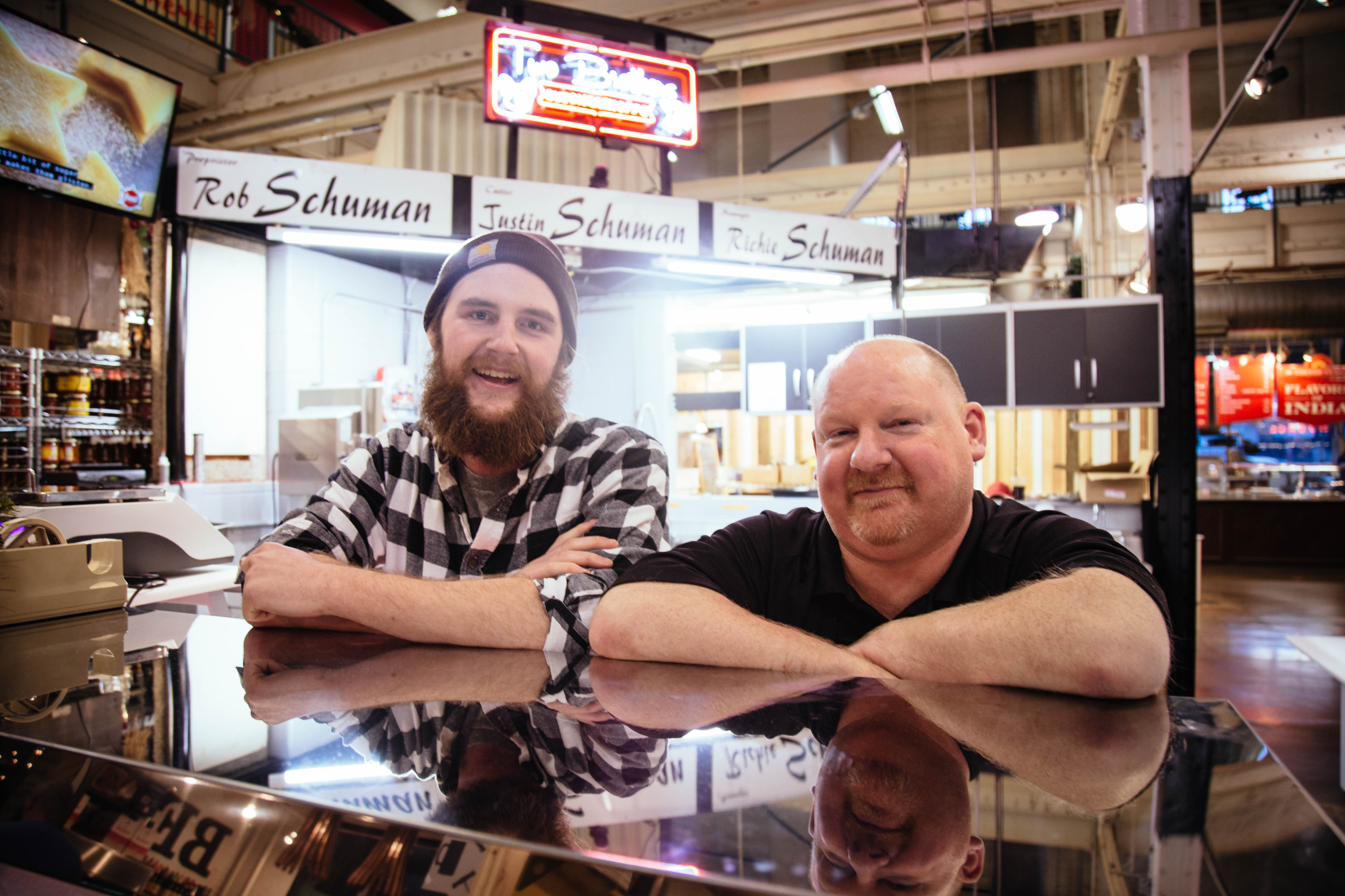 The Men Behind The Counters, Father & Son Duo Rob & Justin Schuman