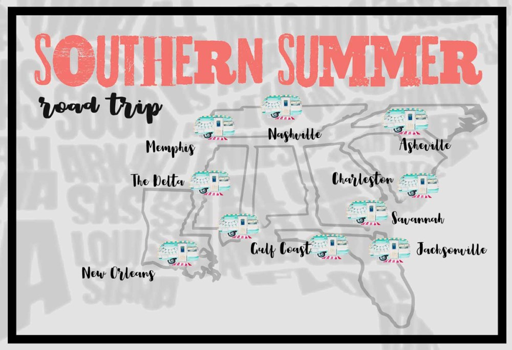 Southern Summer Road Trip