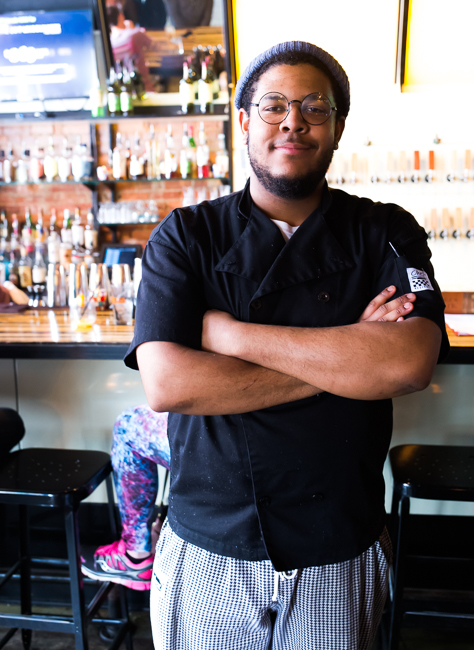 Chef Theo Moore, Brunch at Bodega