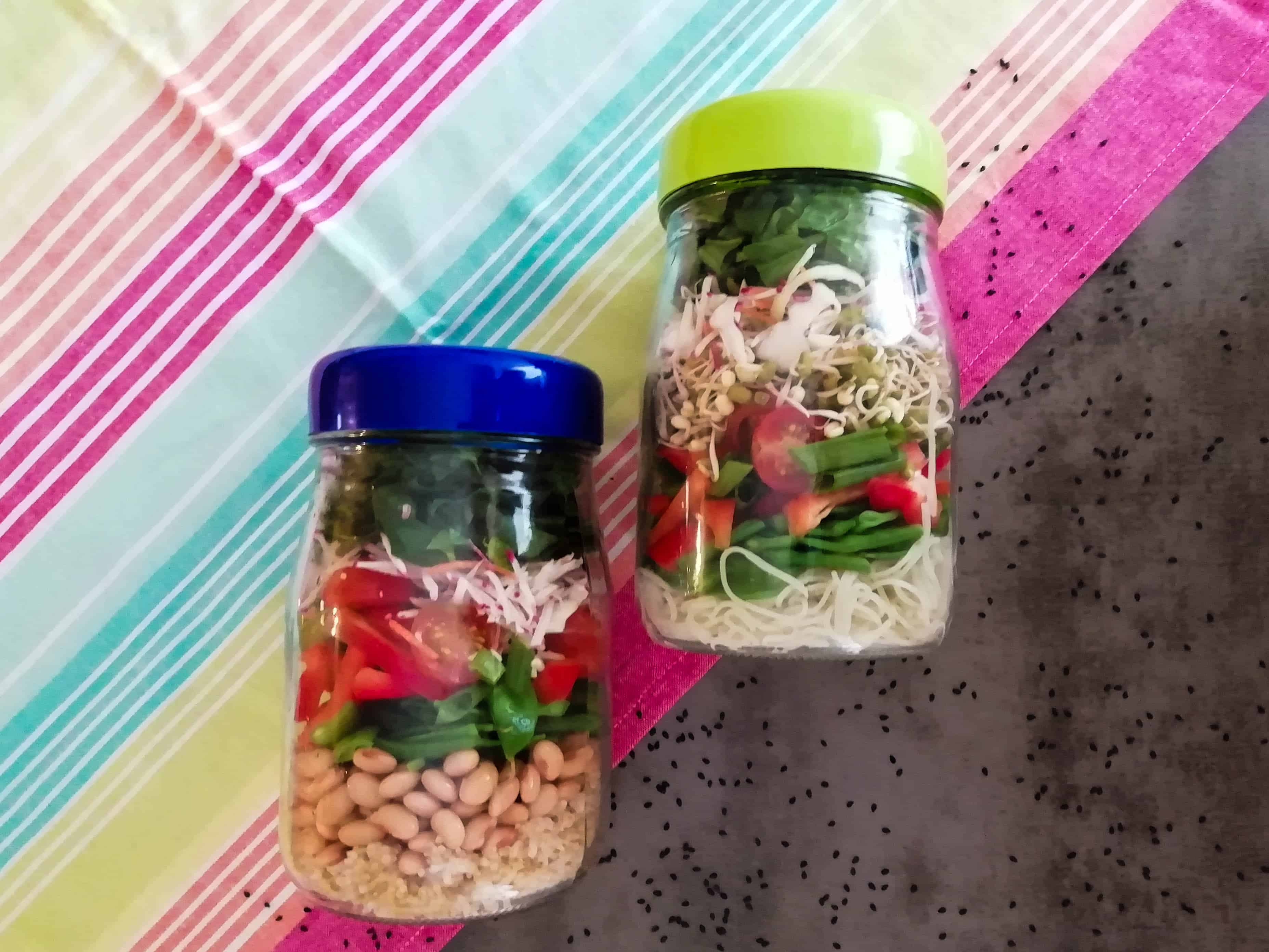 Meal Prep Made Easy: Asian Salad Bowls