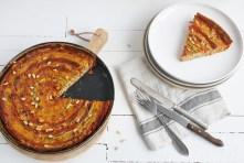 Courgette taart met chorizo en ricotta || cookedbyrenske