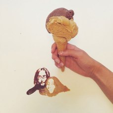 Giulia Bernardelli food art - Ice cream