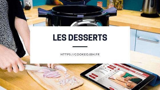 dessert cookeo