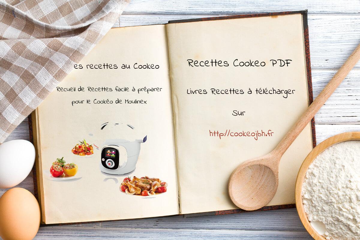 Livres Recettes Cookeo  à Imprimer PDF