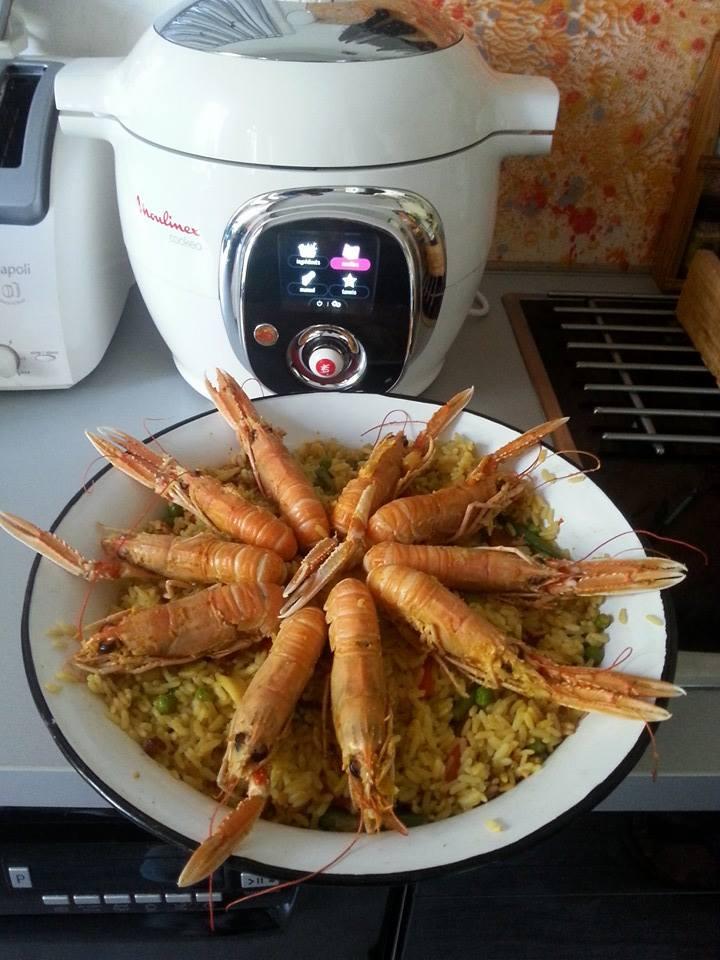 paella aux fruits de mer recettes cookeo. Black Bedroom Furniture Sets. Home Design Ideas