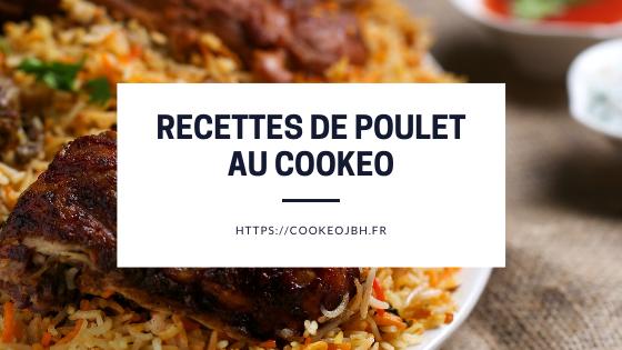 recettes cookeo poulet