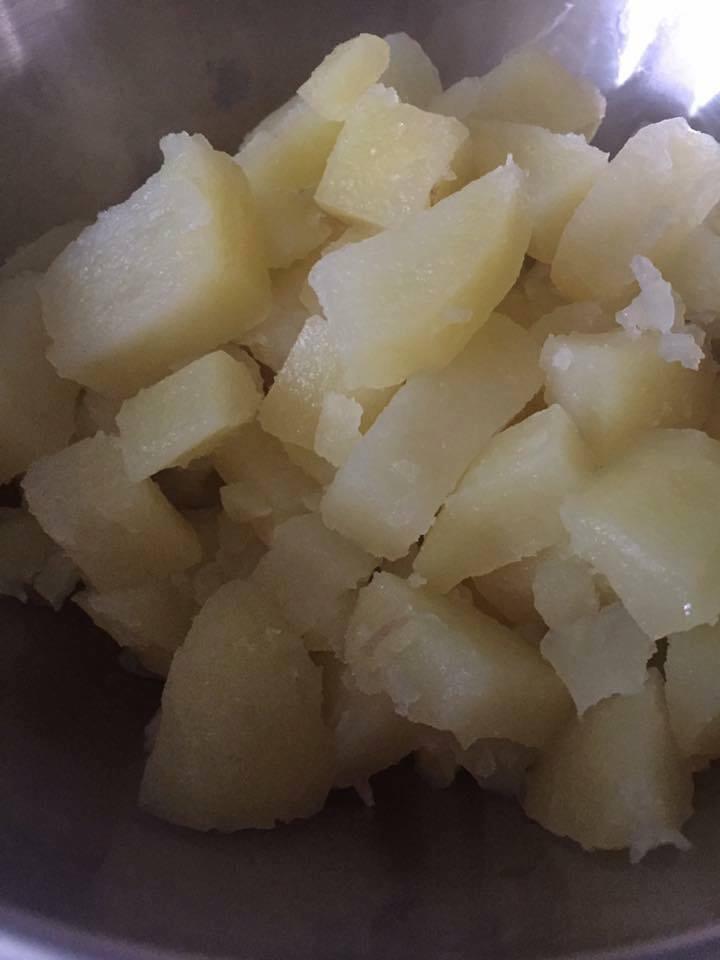 Pomme de terre à l\u0027eau au Cookeo