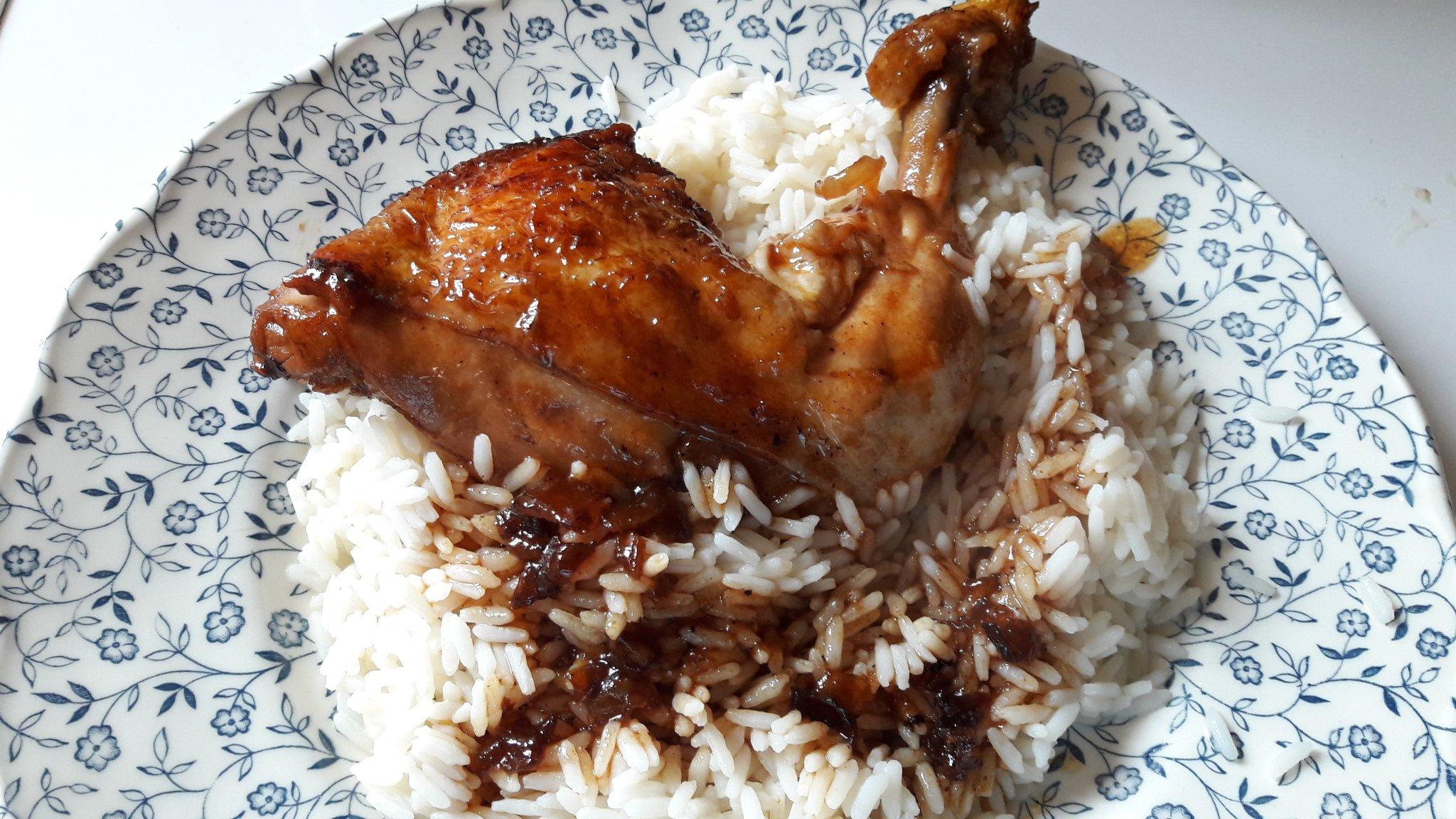 Cuisse de poulet balsamique au miel recettes cookeo - Cuisiner cuisse de poulet ...