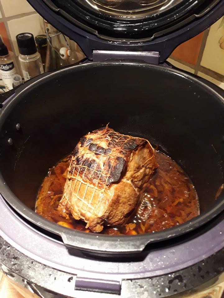 Roti De Porc Au Miel Recettes Cookeorecettes Cookeo