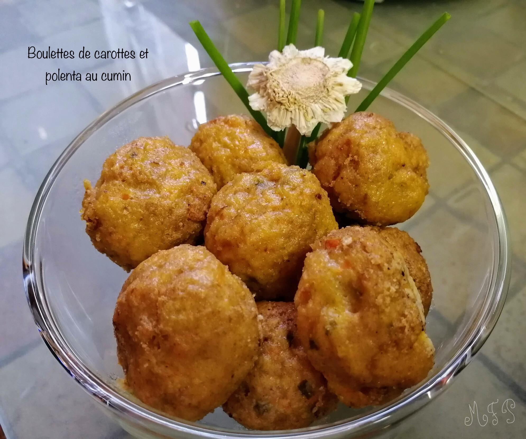 Boulettes De Polenta Et Carottes Au Cumin Cuisine Vegetarienne