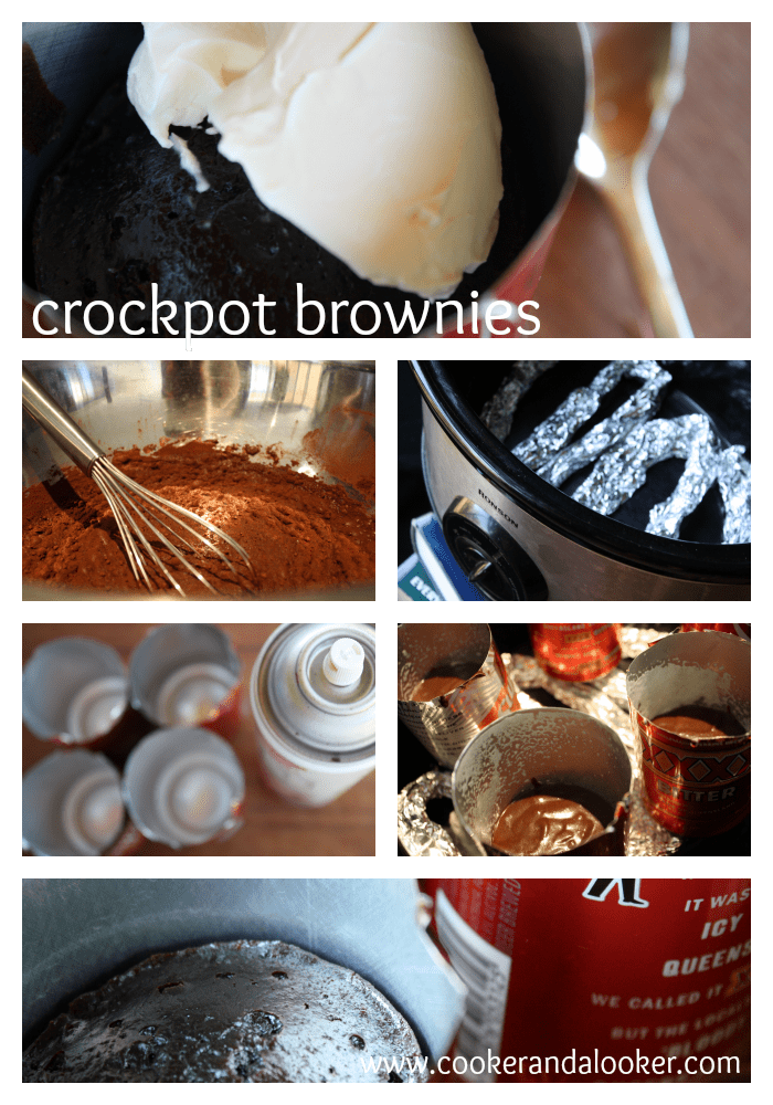crockpot brownies for camping