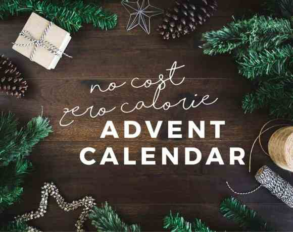 no cost, zero calorie Advent calendar