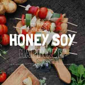 easy honey soy marinade