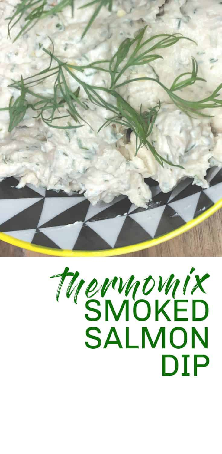 thermomix smoked salmon dip