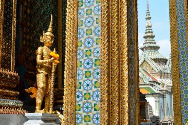 Le temple Wat Phra Kaeo