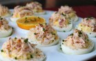 Crab Stuffed Deviled Eggs – Deviled Eggs with Crab Recipe.