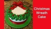 Christmas Wreath Cake – Christmas Cakes.