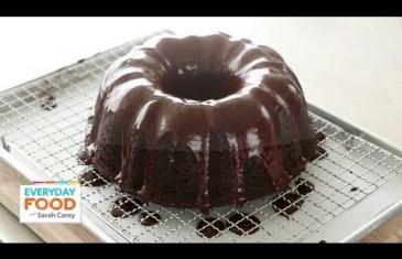 Devil's Food Bundt Cake