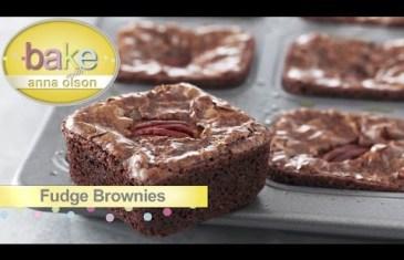 Fudge Brownie Squares
