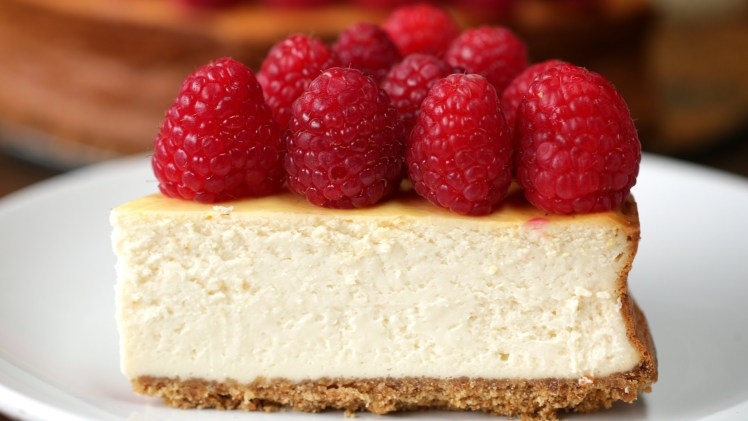 Lighter Raspberry Cheesecake – Cooking Video