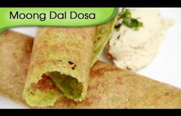 Moong Dal Dosa - Cooking Recipes.