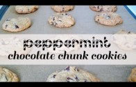 Peppermint Chocolate Chunk Cookies – Christmas Cookie Recipes | One Hungry Mama