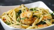 One-Pot Lemon Garlic Shrimp Pasta – Cooking Video