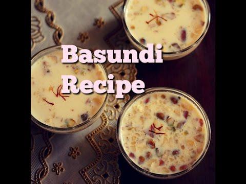 Basundi recipe – How to make basundi – Quick basundi recipe